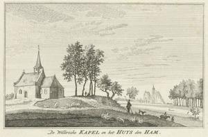 De Willersche kapel en het Huis Hamm aan de Niers bij Goch (Duitsland)