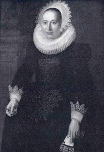 Portret van een 41-jarige vrouw