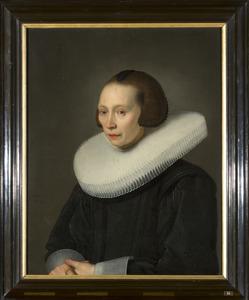 Portret van Liedewij van Diemen (1589-? )