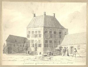 Huis Sinderen bij Voorst anno 1730