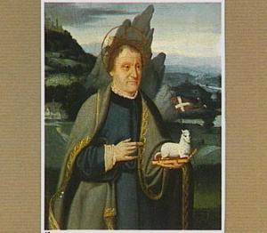 Portret van een donor als Johannes de Doper