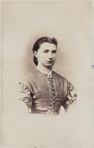 Portret van een vrouw uit familie Hofkes
