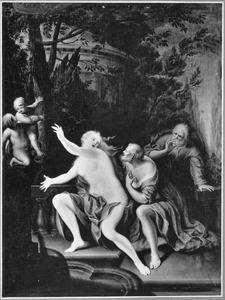 Suzanna door de ouderlingen belaagd (Daniël 13:1-63)