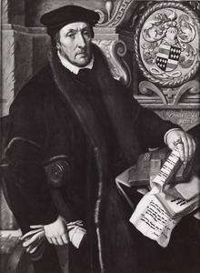 Portret van Symon Marten Dircksz. gezegd van de Ruwiel (1504-1574)