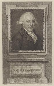 Portret van George Hendrik de Wilde (1738-1817)