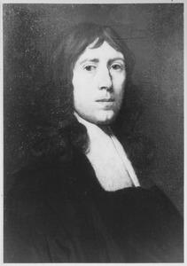 Portret van een predikant, vermoedelijk Johannes Michgorius