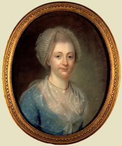 Portret van een vrouw, waarschijnlijk Adriana Frederica Sloet tot Lindenhorst (1745-1815)