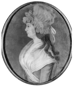 Portret van Quirina Jacoba Johanna Gerlacius (1775-1846)