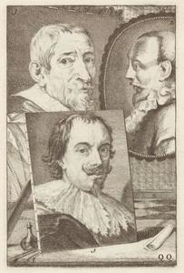 Portretten van Peeter Stevens (....-1668), Jan Saenredam (1565-1607) en Joos de Momper II (1564-1635)