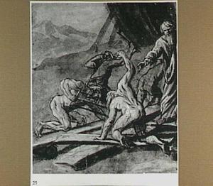 De bouw van de ark van Noach (Genesis 6:5-22)