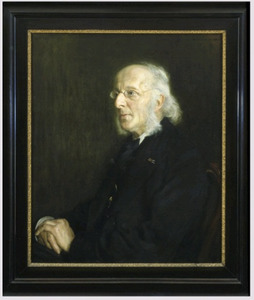 Portret van  A.H.G.P. (Anthonie Hendrik Gerrit Paul) van den Es  (1831-1909)
