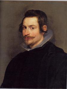 Portret van een onbekende Spaanse man