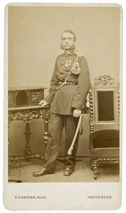 Portret van Franciscus Amandus Carolus Dumontier (1825-1895)