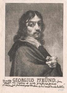 Portret van Georg Pfründt (1603-1663)