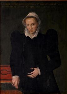 Portret van Elisabeth Heinderickx (1527-1587)