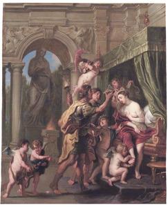 Het huwelijk van Alexander de Grote en Roxane