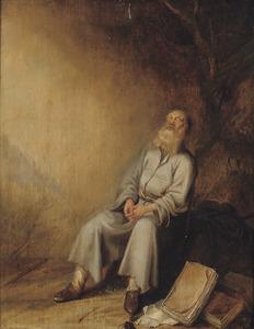 De profeet Jeremia in de gevangenis (Jeremia 37:11-16)
