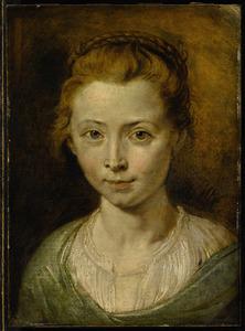 Portret van Clara Serena Rubens (1611-1623)