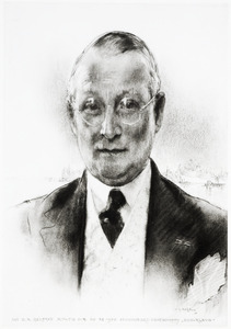 Portret van Daniel Apollonius Delprat (1890-1988)