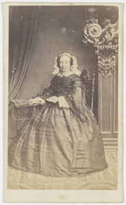 Portret van Helena Andreae (1801-1869)
