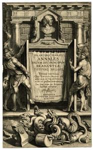 Titelpagina voor F. Van haer, Annales Ducum Seu Principum Brabantiae Totiusque Belgii, III, Antwerpen 1623