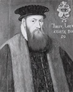 Portret van Joost Lewe (1529-1589)