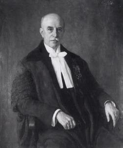 Portret van Rodolph de Josselin de Jong (1868-1958)