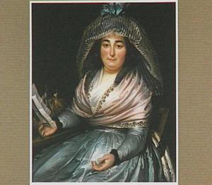 Portret van Adriana Johanna van Lodestein (1752-18230