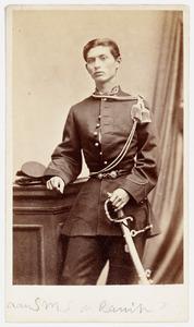 Portret van een man, mogelijk Sebastiaan Mattheus Sigismund de Ranitz (1846-1916)