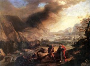 De verzoeking van Christus in de woestijn