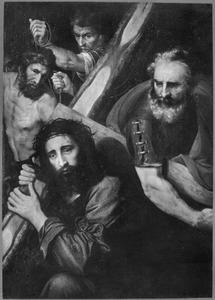 De kruisdraging met Simon van Cyrene