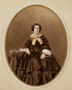 Portret van Sophie Milders (1839-1917)
