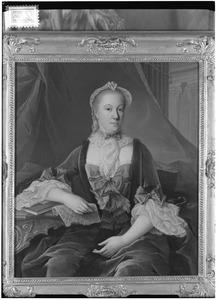 Portret van Jacoba Helena de Vicq (1702-1768)