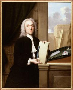Portret van Jan van Lemzeele (1715-1797)