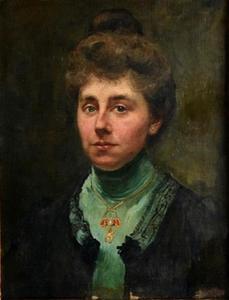 Portret van mevrouw van der Garde
