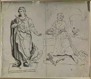 H. Johannes de Evangelist en H. Petrus