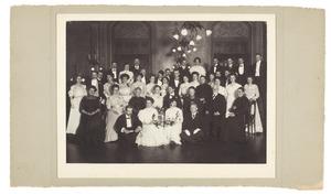 Bruiloft van Maria Bijl (1883-1967) en Willem Gerrit Nieuwenkamp (1884-1945)
