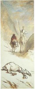 Don Quichotte en het dode muildier