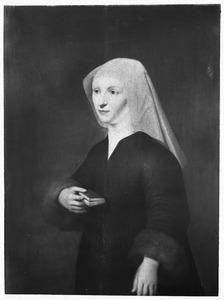 Portret van Cornelia Schoor (of Schore) (st. 1487),