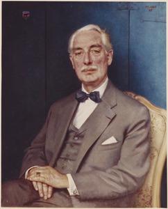 Portret van Jasper Andries Hooijkaas (1909-1991)