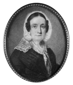 Portret van Hester Geertrui Budde (1786-1879)