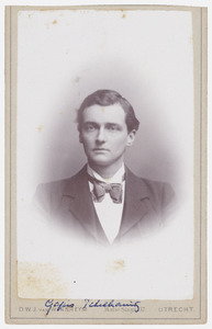 Portret van Gajus Pekelharing