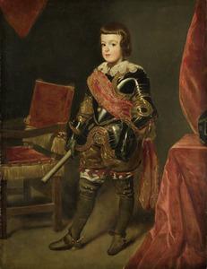 Prins Balthasar Carlos (1629-46), zoon van de Spaanse koning Philips IV op ongeveer elfjarige leeftijd