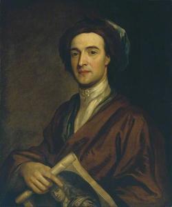 Portret van de prentkunstenaar John Smith (c. 1652-1743)