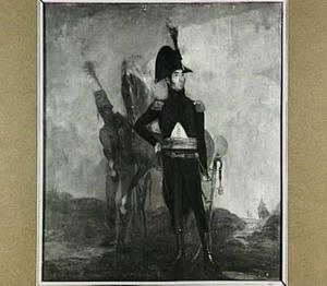Portret van Wouter Gijsbert van Klinkenberg (1766-1842) als  kapitein van de Nationale Gewapende Burgerwacht te Rotterdam
