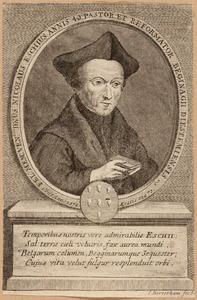 Portret van Nicolaus van Esch (1507-1578)