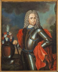 Portret van Louis Adriaan van Kretschmar (1679-1750)