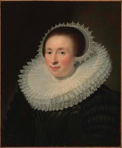 Portret van Emerentia Banningh, echtgenote van Jacob van Brouchoven