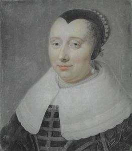 Portret van Geertruid Hooftman (1609-1658)