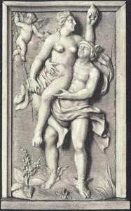 Mercurius voert Psyche naar de Olympus